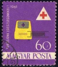 Timbre: Ambulance et brancard