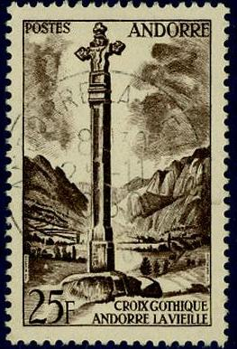 Timbre: Croix gothique