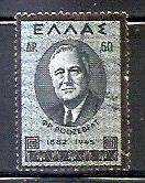 Timbre: Timbre de deuil à la mémoire de Roosevelt