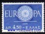 Timbre: Europa 1960
