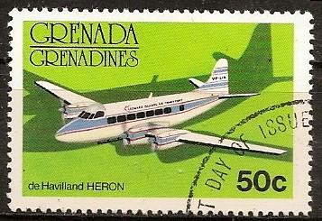 Timbre: Avion de Haviland HERON