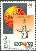 Timbre: Exposition universelle de 1992 à Séville.