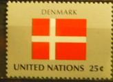 Timbre: DANEMARK sur FDC UNICEF
