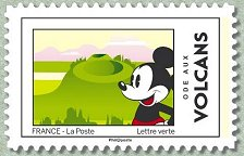Timbre: Mickey : Ode aux volcans