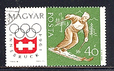 Timbre: Jeux Olympiques d'Innsbruck 1964