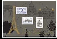 Timbre: Bloc doré Paris-Philex 2016