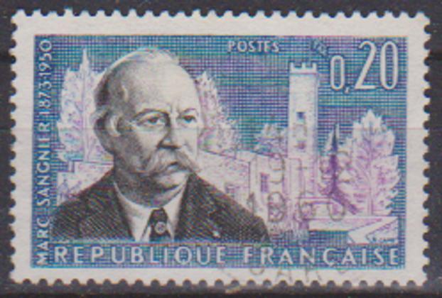 timbre: 10 anniv de la mort de Marc Sangnier--OR 1960