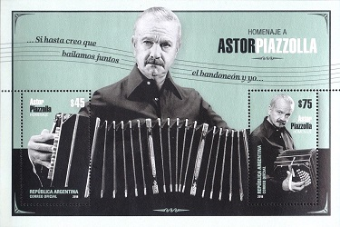 Timbre: Astor Piazzola