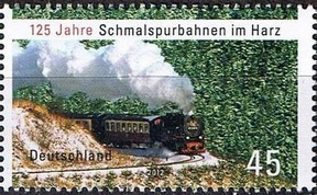 Timbre: Train à vapeur adh