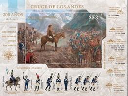 Timbre: 200 ans de la traversée des Andes