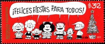 Timbre: Noel. Mafalda