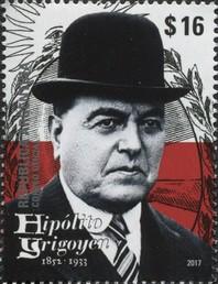 Timbre: Président Hipólito Yrigoyen