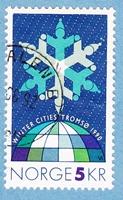Timbre: Conférence des pays nordiques à Tromsö