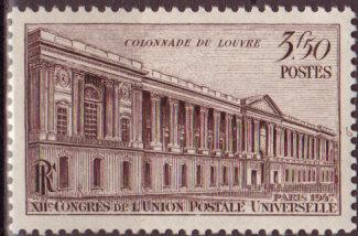 Timbre: Colonnade du Louvre