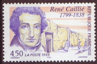 Timbre: 200 Ans de la naissance de Rene Caillié    (1)