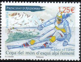 Timbre: Coupe du monde de ski alpin féminin -