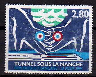Timbre: Tunnel sous la Manche