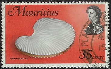 Timbre: Coquille d'Argonaute  ORP