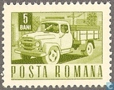Timbre: Camion postal
