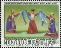 timbre: Danses mongoles
