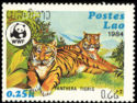 Timbre: Panthera tigris (OR)