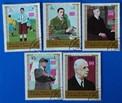 Timbre: De Gaulle  timbre du milieu en haut