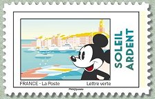 Timbre: Mickey : Soleil ardent