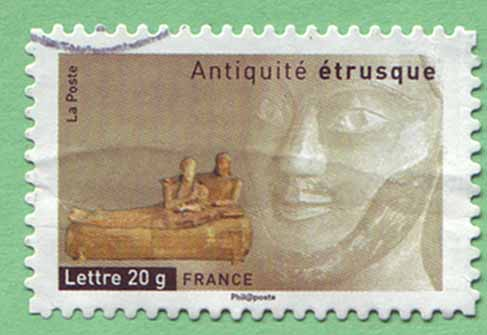 Timbre: Antiquite Etrusque