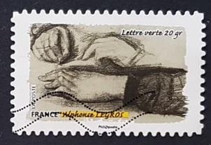 Timbre: Alphonse Legros