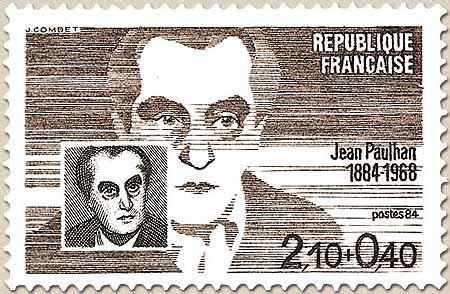Timbre: Jean Paulhan