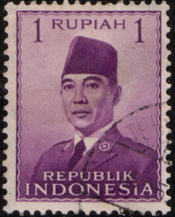 Timbre: Président Sukarno