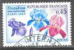 Timbre: Floralies internationales de Paris