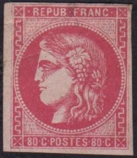 Timbre: Cérès - rose