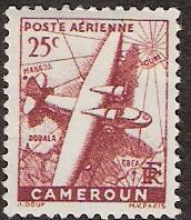 Timbre: Avion et carte
