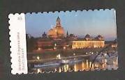 Timbre: L'Elbe traversant la ville de Dresde