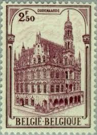 Timbre: Hôtel de ville d'Oudenarde ( Donné )