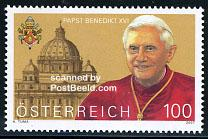 Timbre: Pape Benoit XVI