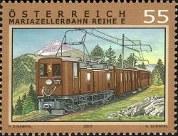 Timbre: Centenaire du train de Mariazell