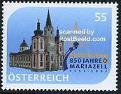 Timbre: Basilique de Mariazell