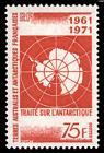 Timbre: Traité sur l'antartique