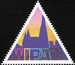 Timbre: WIPA 2008 - Silhouette cathédrale St-Etienne à Vienne