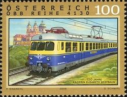 Timbre: Locomotive électrique