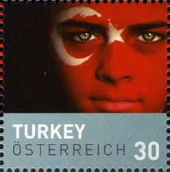 Timbre: UEFA Euro 2008 -  Turquie