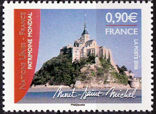 Timbre: Le Mont Saint Michel