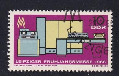timbre: Foire de Leipzig