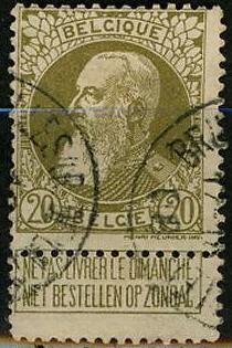 timbre: Léopold II