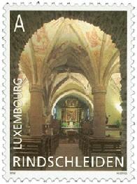 timbre: Eglise de Rindschldeiden