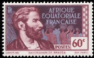 timbre: Sarvognan de Brazza