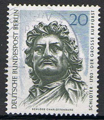 Timbre: Grand Electeur par Schlüter (1703)