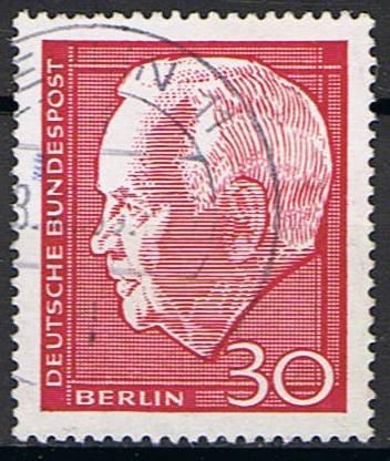 Timbre: Président Lübke